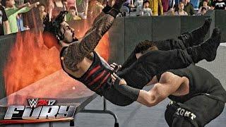 getlinkyoutube.com-WWE 2K17 Fury - Powerbomb Outta Nowhere!