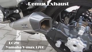 Top 8 Full Exhaust Sound Yamaha V-max 1700 / Akrapovic, Remus, Mega Max, RT-ONE
