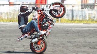 getlinkyoutube.com-Как Делать Вилли Сидя на Мотоцикле