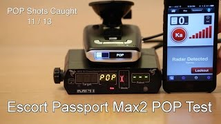 getlinkyoutube.com-Escort Passport Max2 POP Test