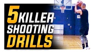 getlinkyoutube.com-5 Killer Basketball Shooting Drills: How to Shoot a Basketball