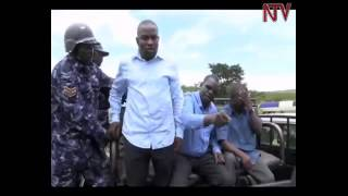 Shocking Video Uganda Police strip female opposition leaderZaina Fatuma naked while arresting her in