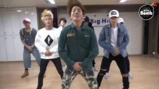 getlinkyoutube.com-[ENG SUB] Bangtan bomb- 'Baepsae' Dance Practice 흥 ver