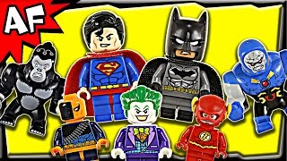 Lego DC Comics Minifigures 2015 Complete Collection