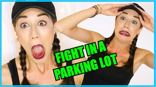 getlinkyoutube.com-MY SISTER FOUGHT A JERK FOR ME IN A PARKING LOT