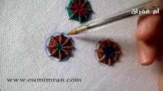 getlinkyoutube.com-خياطة الطرز التركي درهم مع ام عمران درس التالت TARZ Arab Embroidery