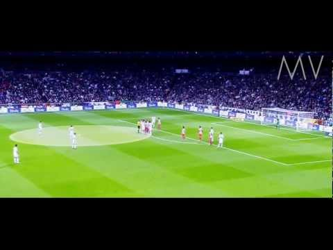 Cristiano Ronaldo  Freekick Goal Vs Atletico De Madrid 2012 HD