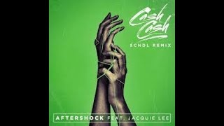 AFTERSHOCK - CASH CASH FEAT JACQUIE LEE  karaoke version ( no vocal ) lyric instrumental