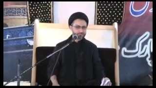 getlinkyoutube.com-9- Maulana Shahenshah Hussain Naqvi - 9th Muharram 1435H - Khatme Nabuwwat - Nishter Park