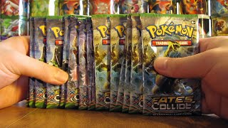 getlinkyoutube.com-15 Pokemon Fates Collide Booster Pack Opening