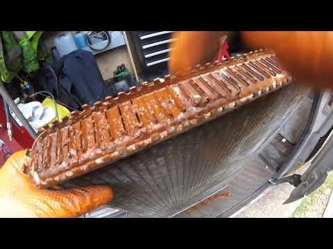 Как почистить радиатор Chrysler Dodge to clean a radiator Chrysler Dodge