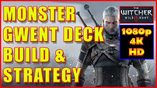 getlinkyoutube.com-Witcher 3 - Monster Gwent Deck Build Strategy - 4K Ultra HD