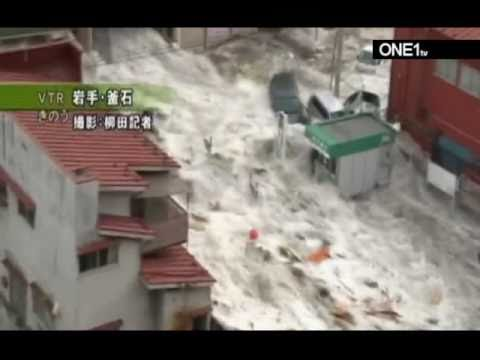 earthquake japan 2011 tsunami footage in kamaishi japan