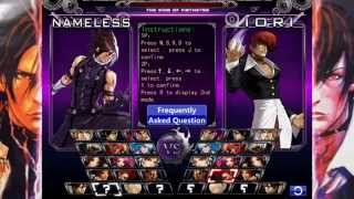 getlinkyoutube.com-KOF WING EX | NAMELES & ZERO UNLOCKED