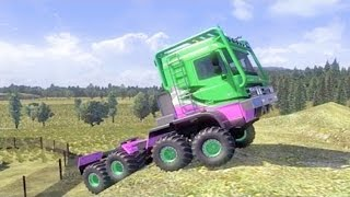 getlinkyoutube.com-DAF Crawler ETS2 (Euro Truck Simulator 2)