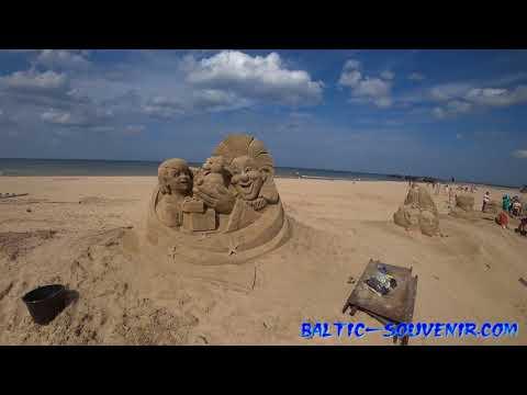 #Live Международный Фестиваль Песчаной Скульптуры / International Festival of Sand Sculpture