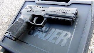 getlinkyoutube.com-Sig Sauer P320 Full Frame Pistol 9mm