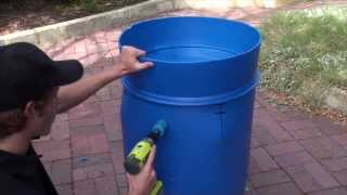 getlinkyoutube.com-I-Barrel Aquaponic System
