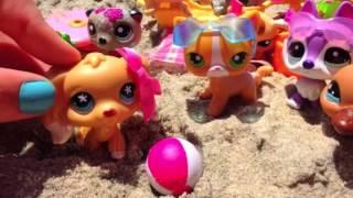 getlinkyoutube.com-LPS Beach Vlog With Soph Ine!