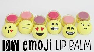 getlinkyoutube.com-DIY EMOJI Lip Balms From Scratch - Fun & EASY
