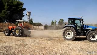 getlinkyoutube.com-FIAT1000 Vs New Holland TM155