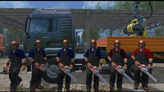 getlinkyoutube.com-Farming Simulator 15 S16E1 Multiplayer - Gang Drwali