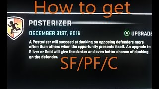 getlinkyoutube.com-NBA 2K16: How to get POSTERIZER for PF/C and Tall/