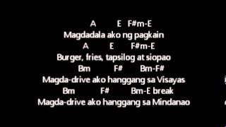 getlinkyoutube.com-ERASERHEADS - OVERDRIVE lyrics w/guitar chords