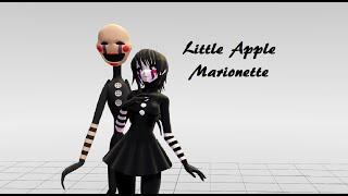 getlinkyoutube.com-Little Apple-Marionette-MMD-(Five Nights At Freddy´s)
