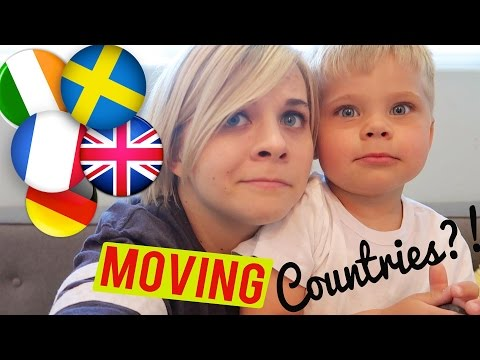 MOVING COUNTRIES?! 😯 Q AND A W/ OLLIE! // SoCassie