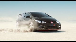 getlinkyoutube.com-Honda Civic Type R 2015 TOP SPEED acceleration 0-290 km/h