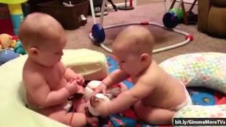 getlinkyoutube.com-Funny Babies Moments - Top 8 Cutest Baby Fighting [Compilation]