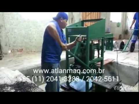 Sotóbi: Máquina De Fazer Blocos E-321 Ind.