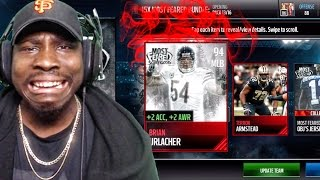 MOST FEARED PACK OPENING & MASTER URLACHER! Madden Mobile 17 Gameplay Ep. 8