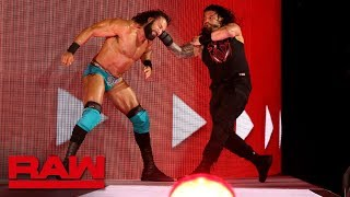 Roman Reigns unleashes an all-out assault on Jinder Mahal: Raw, May 14, 2018 width=
