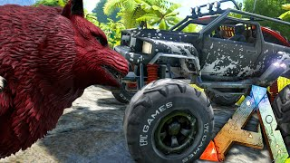 getlinkyoutube.com-ARK Survival Evolved - BUGGY UPDATES, MEGA WOLF, ARMORED SPINO, MORE! - Gameplay