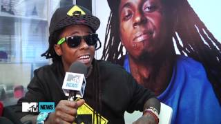 Lil Wayne Talks Chris Brown & Drake Beef (HD)