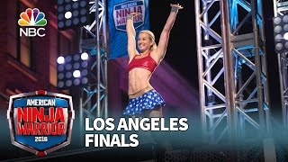 getlinkyoutube.com-Jessie Graff at the Los Angeles Finals - American Ninja Warrior 2016
