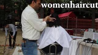 Open Air Haircut Series Epi # 7 (Messi disconnect Feather )