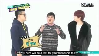 getlinkyoutube.com-[Eng Sub] 140101 Weekly Idol Kim Heechul Cut P1/2