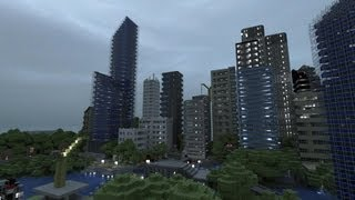 getlinkyoutube.com-Minecraft Xbox 360 City Seed - Perfect for Building Awesome Cities!