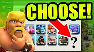 getlinkyoutube.com-Clash Of Clans - YOU CAN CHOOSE A NEW ARMY!! - I NEED YOUR HELP!