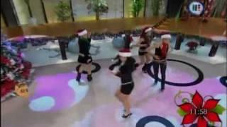 getlinkyoutube.com-Ballet de Venga la alegria Las Sexy Santa Claus de Venga la alegria