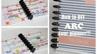 getlinkyoutube.com-HOW TO ARC YOUR PLANNER | Erin Condren Life Planner | Plum Paper Planner