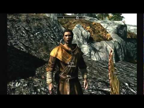 skyrim: how to get a good mage robe at the start of skyrim