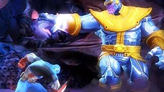 getlinkyoutube.com-Marvel: Contest of Champions - THANOS BOSS BATTLE [FULL]