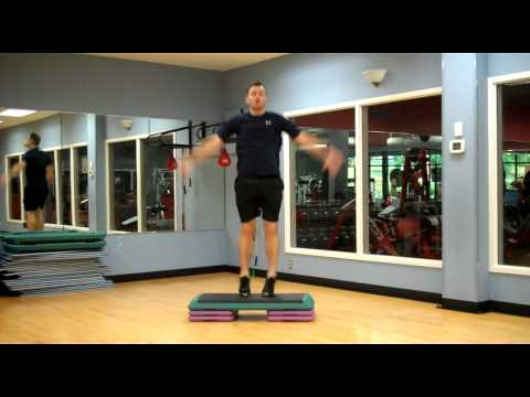 Basic Step Aerobics Workout - Jonathon's Fitness