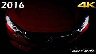 getlinkyoutube.com-2016 Honda Civic AT NIGHT Interior and Exterior in 4K
