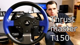getlinkyoutube.com-Best Cheap Racing Wheel for PS4 / PS3 / PC - Thrustmaster T150 Review [4K]