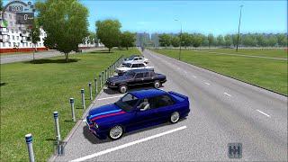 getlinkyoutube.com-BMW M3 E30 Drifting City Car Driving 1.5 w/ Logitech G27